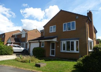 Thumbnail 4 bed detached house for sale in Duxford Close, Bowerhill, Melksham
