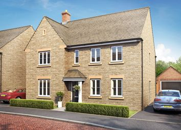 "Thumbnail 4 bed detached house for sale in ""Chelworth"" at Field Close, Longworth, Abingdon"