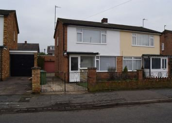 Thumbnail 2 bedroom semi-detached house to rent in Green End Road, St. Neots
