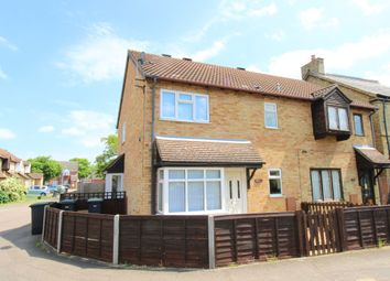 Thumbnail 1 bed terraced house to rent in St Neots Road, Sandy