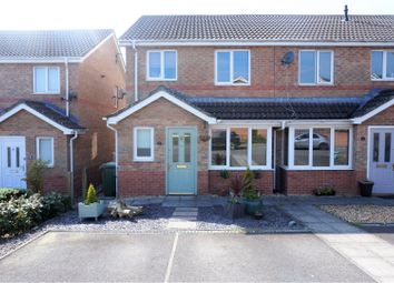 Thumbnail 3 bed end terrace house for sale in Half Acre Court, Caerphilly
