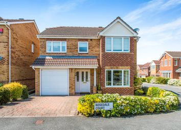Thumbnail 4 bed detached house for sale in Rosedale Court, Tingley, Wakefield