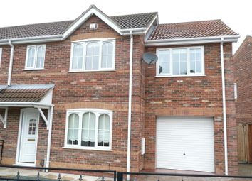 Thumbnail 4 bed semi-detached house to rent in Primrose Way, Cleethorpes