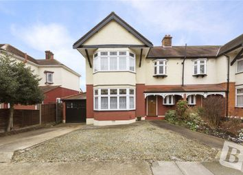 Thumbnail 3 bed semi-detached house for sale in Lake Rise, Romford