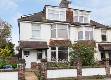 Thumbnail 2 bedroom flat to rent in Hogarth Road, Hove