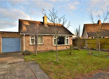 Thumbnail 2 bed detached bungalow for sale in Parkway Close, Nassington, Peterborough