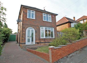 Thumbnail 3 bed detached house for sale in Roslyn Avenue, Gedling, Nottingham