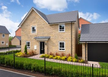 "Thumbnail 4 bed detached house for sale in ""Alderney"" at Moss Lane, Macclesfield"