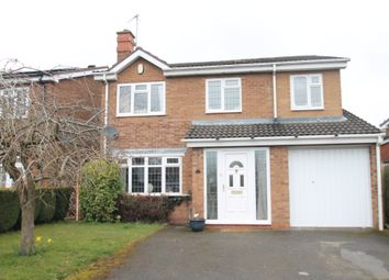 Thumbnail 4 bed detached house for sale in Dalecote Avenue, Solihull