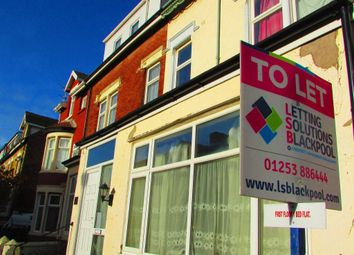 Thumbnail 1 bedroom flat to rent in Osborne Road, Blackpool, Lancashire