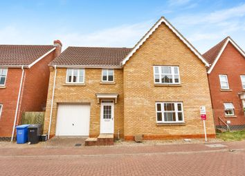Thumbnail 4 bed detached house for sale in Beaufort Close, Old Catton, Norwich