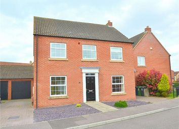 Thumbnail 4 bedroom detached house for sale in Flawn Way, Eynesbury Manor, St Neots, Cambridgeshire