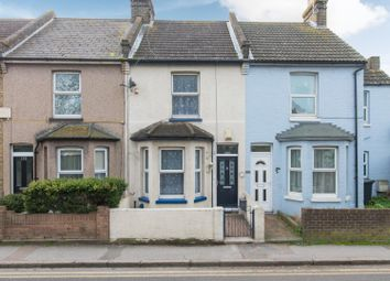 Thumbnail 2 bed terraced house for sale in Grange Road, Ramsgate