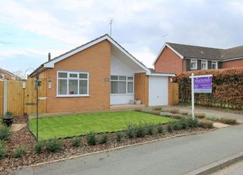 Thumbnail 3 bed bungalow for sale in Derwent Close, Willaston, Nantwich