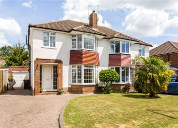 Thumbnail 3 bedroom semi-detached house for sale in Meadway, Hildenborough, Tonbridge