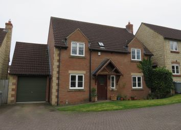 Thumbnail 3 bed detached house for sale in Merrick Close, Great Gonerby, Grantham, Lincolnshire