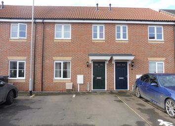 Thumbnail 3 bed terraced house for sale in Braeburn Road, Deeping St. James, Peterborough