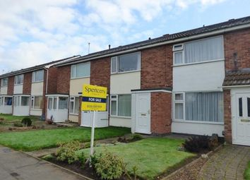 Thumbnail 2 bed terraced house for sale in Broomfield, East Goscote, Leicestershire