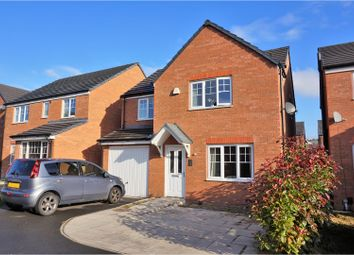Thumbnail 4 bed detached house for sale in Kerridge Drive, Warrington
