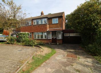 Thumbnail 3 bed semi-detached house for sale in Ember Close, Orpington