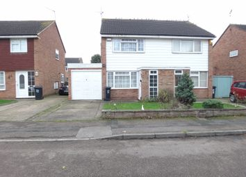 Thumbnail 2 bed semi-detached house for sale in Silverstone Drive, Rushey Mead, Leicester
