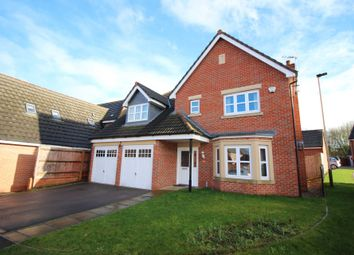 Thumbnail 4 bed detached house for sale in Wainwright Avenue, Hamilton, Leicester