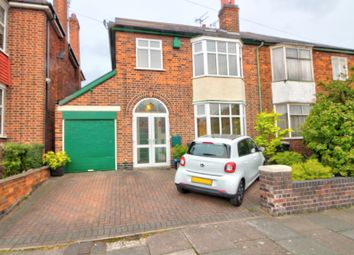 Thumbnail 4 bed semi-detached house for sale in Braunstone Avenue, Leicester