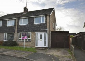 Thumbnail 3 bed semi-detached house for sale in Orchard Road, Raunds, Northamptonshire
