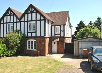Thumbnail 3 bed semi-detached house for sale in Cross Street, Letchworth Garden City