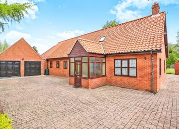 Thumbnail 4 bedroom detached bungalow for sale in Station Road, Great Ryburgh, Fakenham