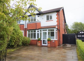 Thumbnail 3 bed semi-detached house for sale in Bramhall Moor Lane, Hazel Grove