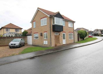 Thumbnail 3 bed detached house for sale in Felsham Chase, Burwell