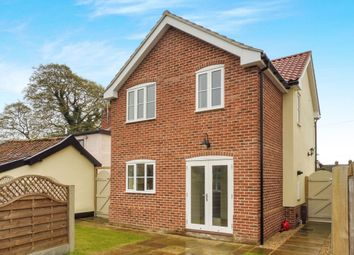 Thumbnail 3 bedroom detached house for sale in Common Road, Hopton, Diss