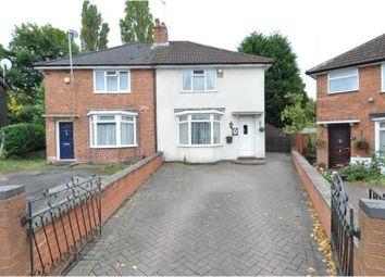 Thumbnail 3 bed semi-detached house to rent in Lockton Road, Birmingham