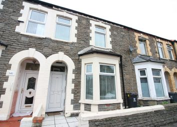 Thumbnail 5 bedroom terraced house to rent in Moy Road, Cardiff