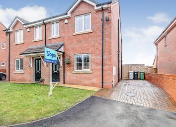 Thumbnail 3 bed semi-detached house for sale in Tower View Close, Wybunbury, Nantwich