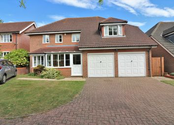 Thumbnail 5 bed detached house for sale in Wallace Close, Dereham