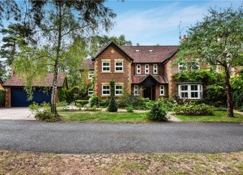 Thumbnail 5 bed detached house for sale in Little Fryth, Finchampstead, Wokingham