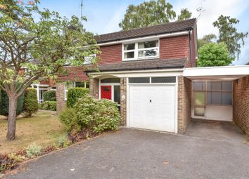 Thumbnail 4 bed link-detached house for sale in Windlesham, Surrey