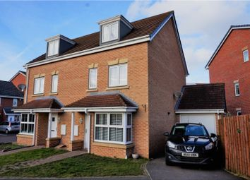 Thumbnail 4 bed semi-detached house for sale in The Potteries, Rossington, Doncaster
