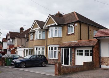 Thumbnail 3 bed semi-detached house to rent in Park Crescent, Harrow