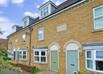 Thumbnail 3 bed town house for sale in Dunlin Walk, Iwade, Sittingbourne, Kent