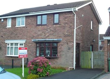 Thumbnail 2 bed semi-detached house for sale in Hillbury Drive, Coppice Farm, Willenhall