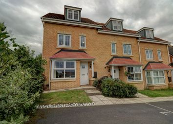 Thumbnail 4 bed town house for sale in Ashwood Close, Sacriston, Durham