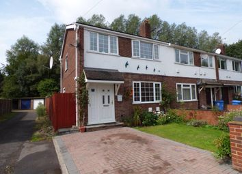 Thumbnail 3 bed end terrace house for sale in Marshall Close, Farnborough