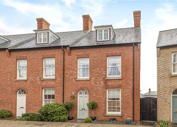 Thumbnail 4 bedroom end terrace house for sale in Reeve Street, Poundbury, Dorchester
