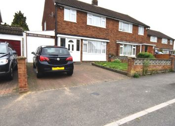 Thumbnail 3 bed semi-detached house for sale in Calverton Road, Luton, Bedfordshire