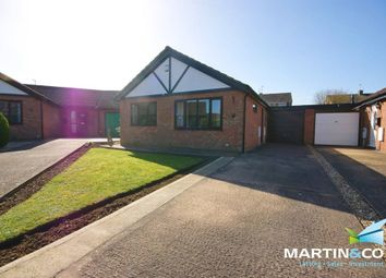 Thumbnail 2 bed detached bungalow for sale in Regents Park Close, North Hykeham, Lincoln