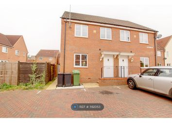 Thumbnail 3 bedroom semi-detached house to rent in Dairy Way, Gaywood, King's Lynn