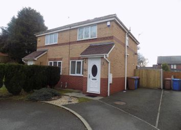 Thumbnail 2 bed semi-detached house to rent in Barrowshaw Close, Walkden, Manchester